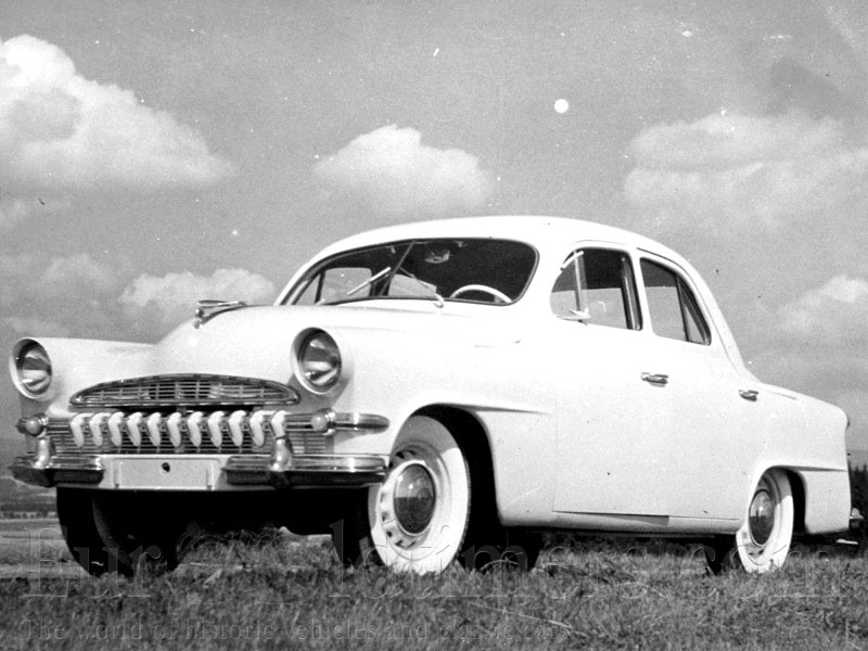 Skoda 1200 I 1952 - 1973 Sedan #7