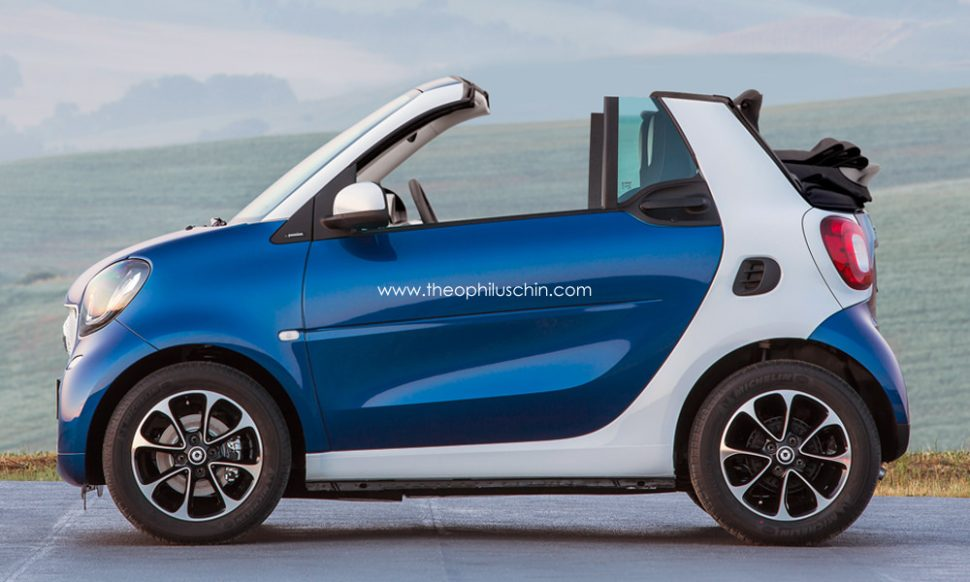 Smart Fortwo II 2007 - 2015 Cabriolet #8
