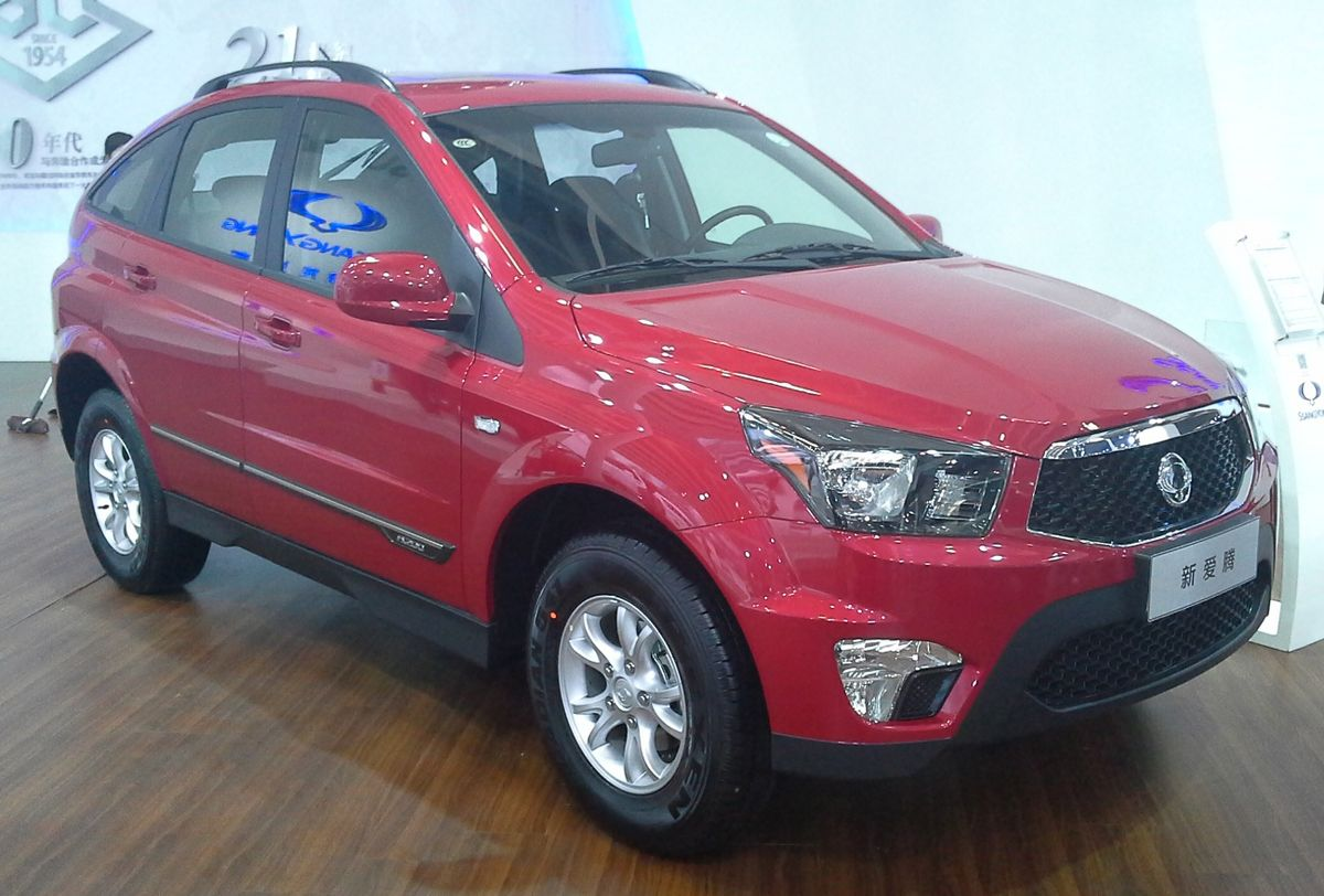 SsangYong Actyon Sports I 2007 - 2012 Pickup :: OUTSTANDING CARS