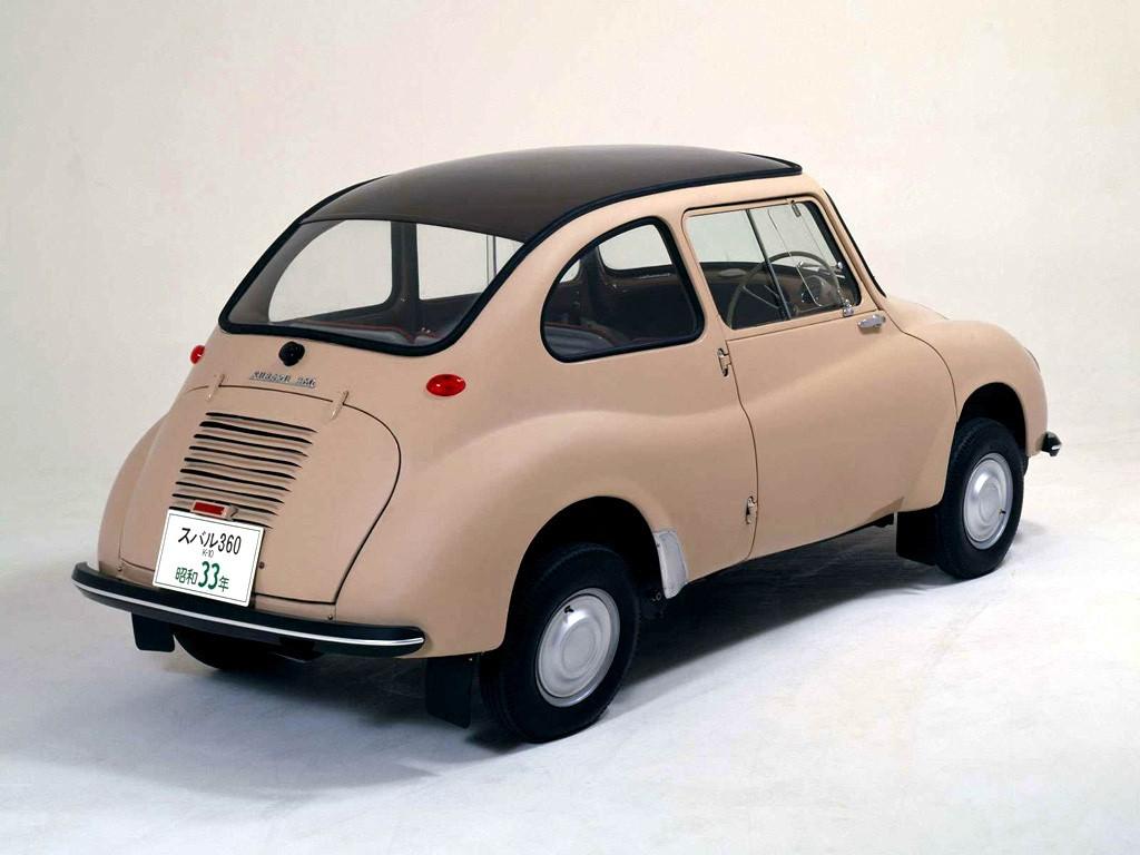 Subaru 360 1958 - 1971 Coupe #6