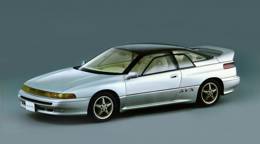Subaru Alcyone II 1991 - 1996 Coupe #6