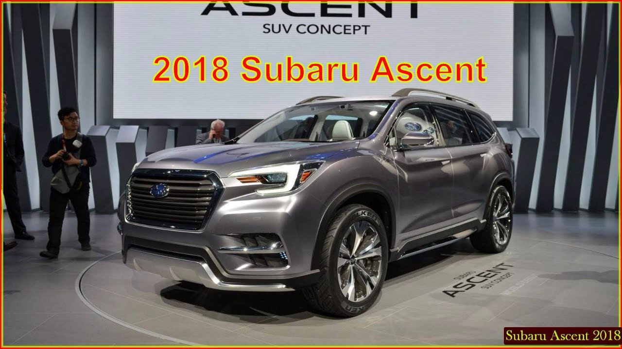 Subaru Ascent I 2017 - now SUV 5 door #7