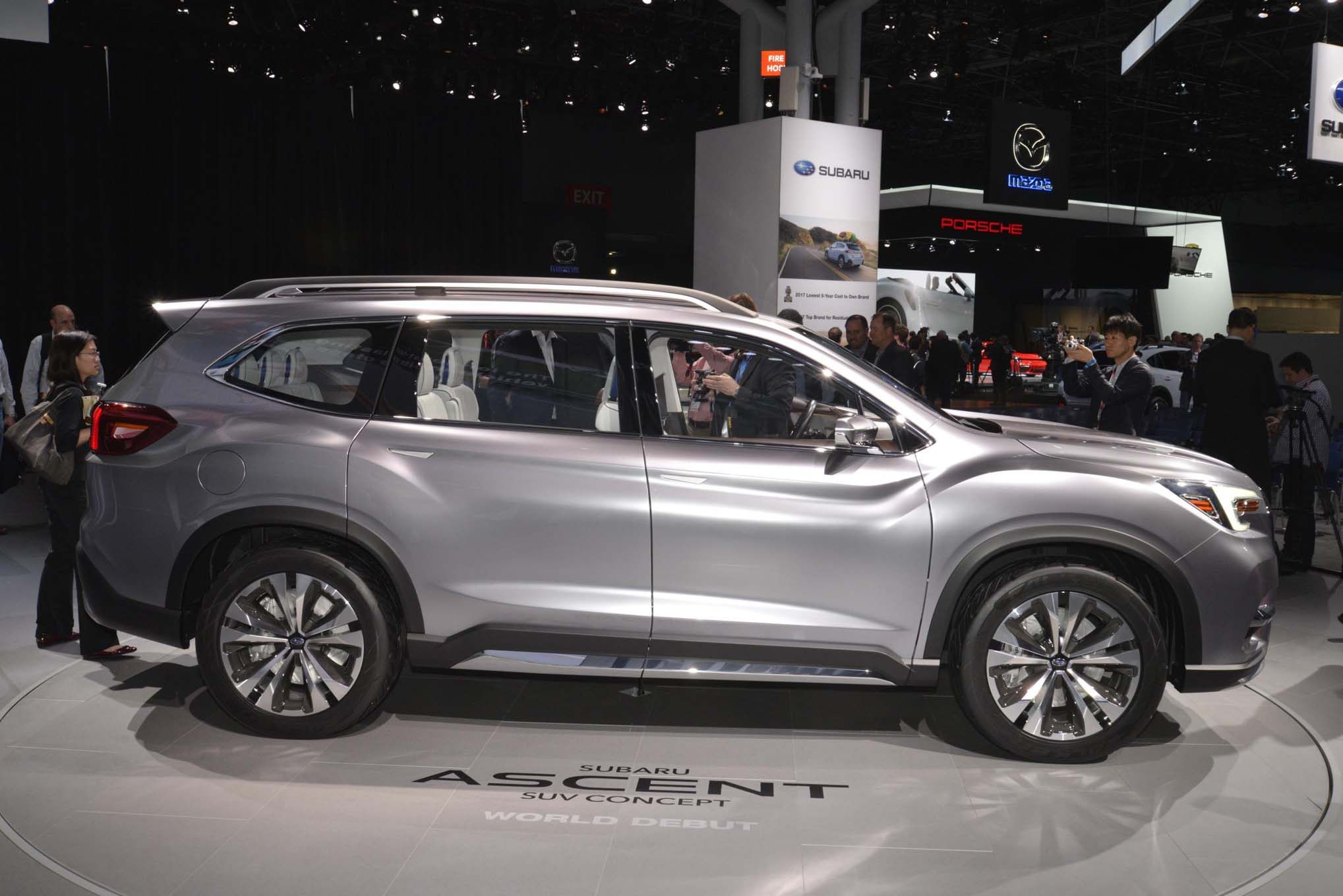 Subaru Ascent I 2017 - now SUV 5 door #2