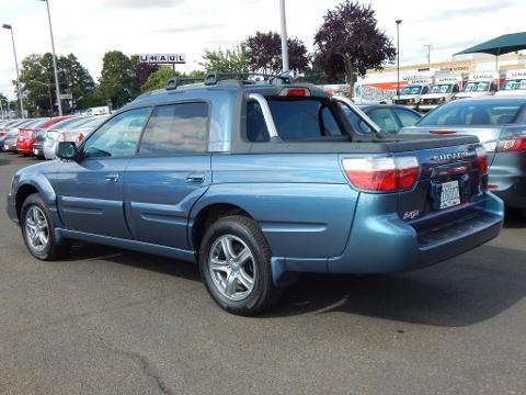 Subaru Baja 2002 - 2006 Pickup #6