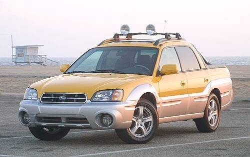 Subaru Baja 2002 - 2006 Pickup #7