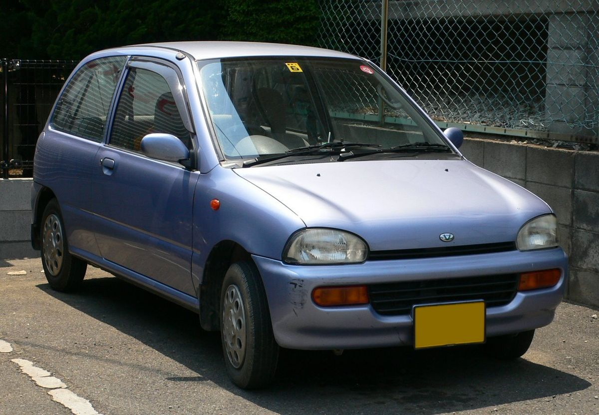 Subaru Vivio 1992 - 1998 Hatchback 3 door #8
