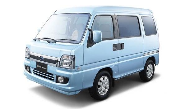 Subaru Dias Wagon I 2003 - 2009 Minivan #3