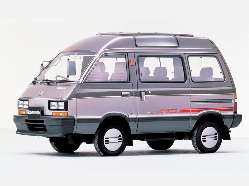 Subaru Domingo I 1983 - 1991 Microvan #4