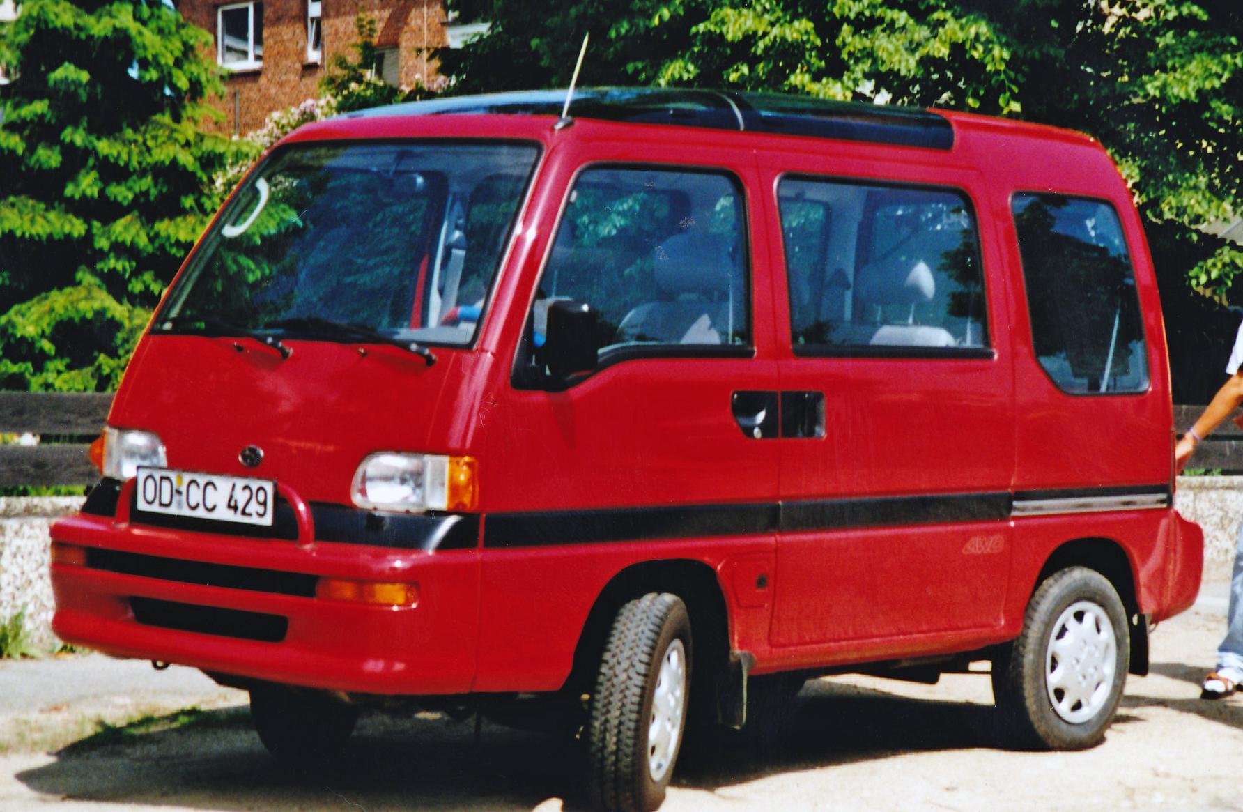 Subaru Domingo I 1983 - 1991 Microvan #6