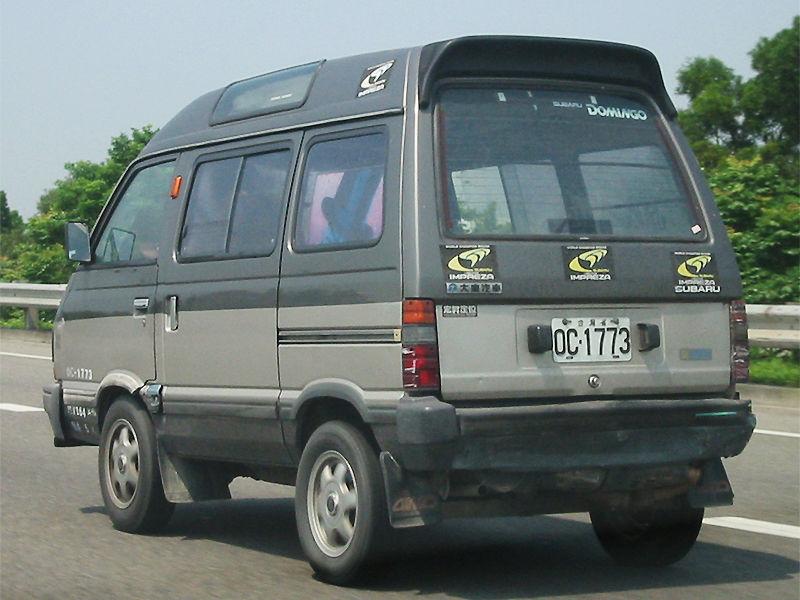Subaru Domingo II 1994 - 1998 Microvan #4