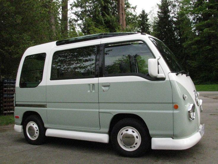 Subaru Domingo II 1994 - 1998 Microvan #2