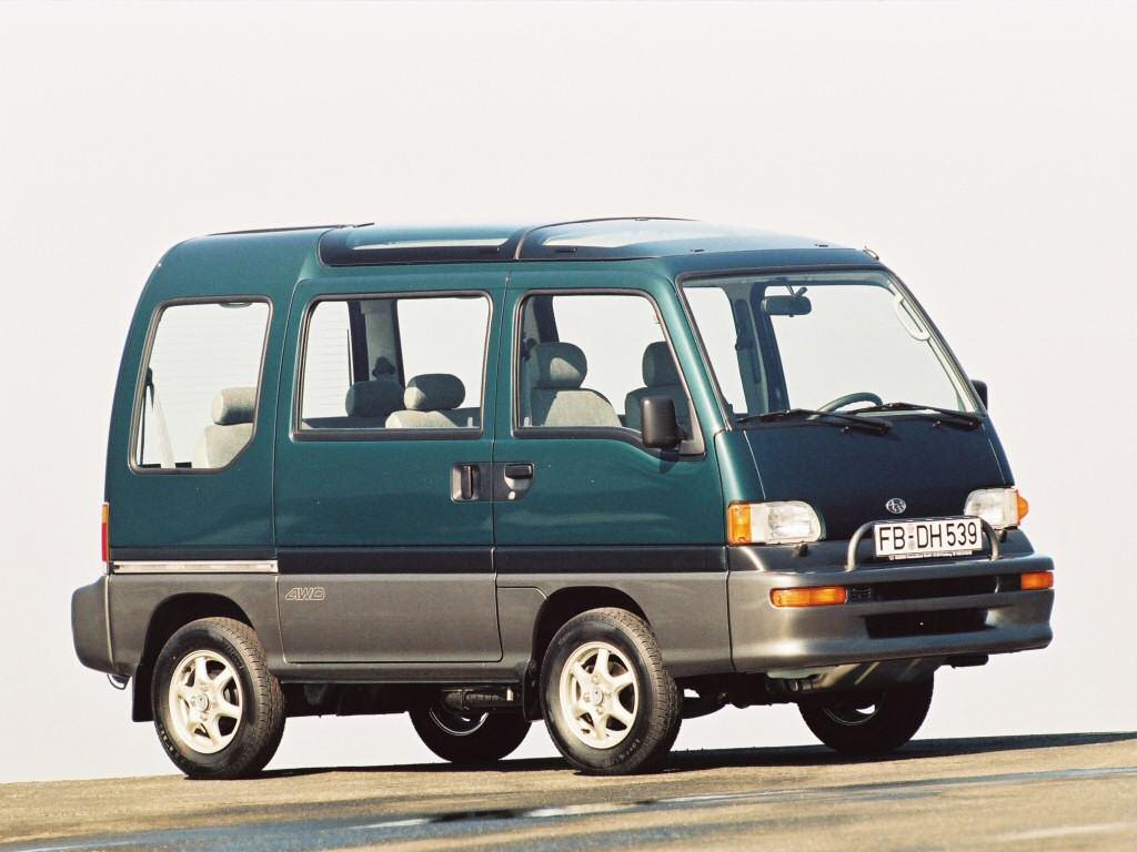 Subaru Domingo II 1994 - 1998 Microvan #5