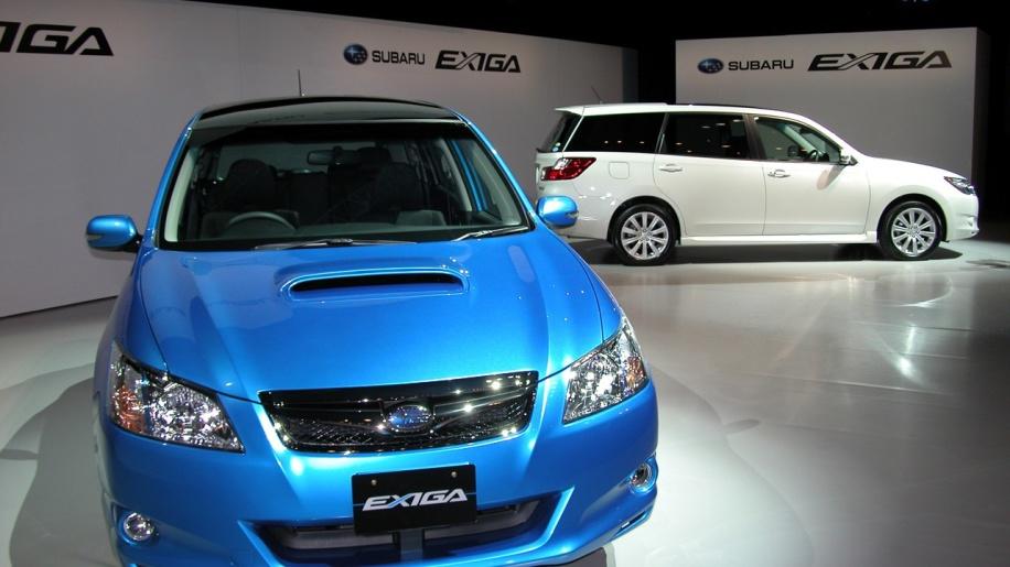 Subaru Exiga 2008 - now Station wagon #4