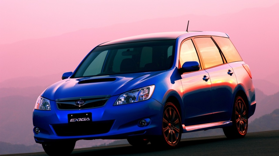 Subaru Exiga 2008 - now Station wagon #2