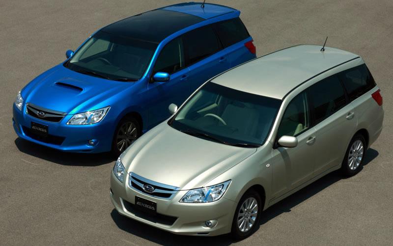 Subaru Exiga 2008 - now Station wagon #7