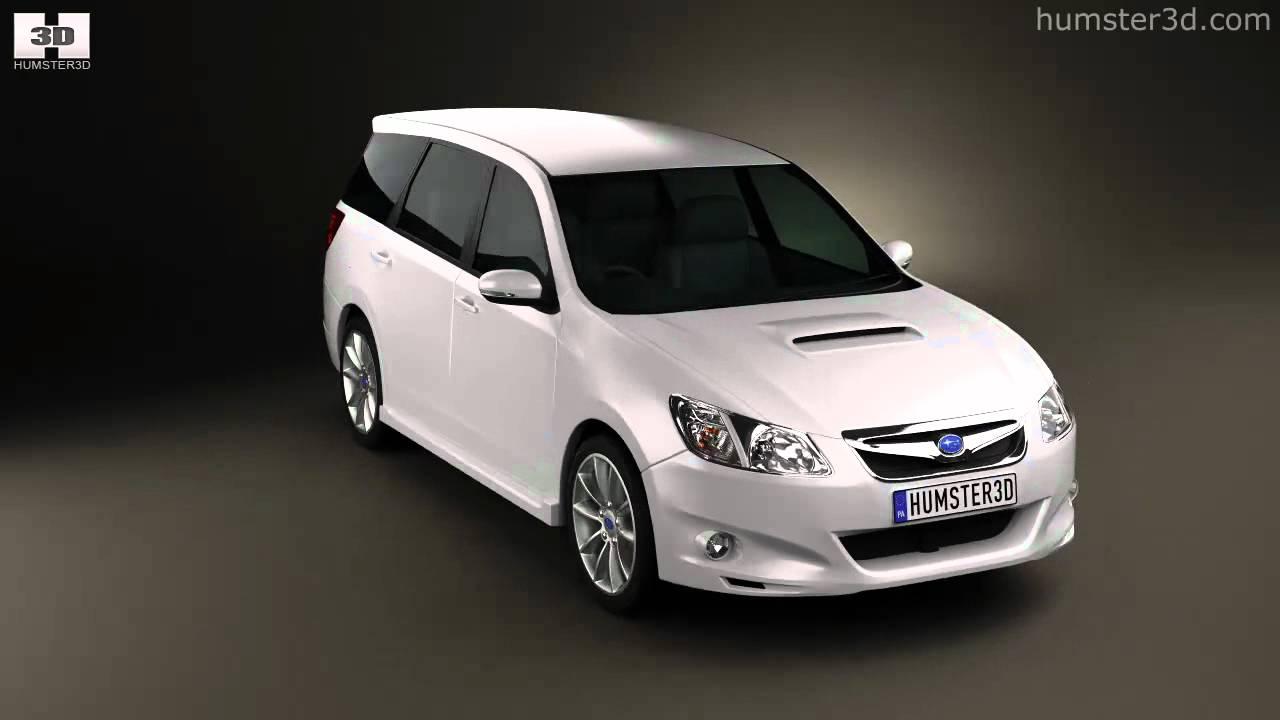 Subaru Exiga 2008 - now Station wagon #5