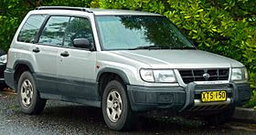 Subaru Forester I 1997 - 2000 Station wagon 5 door #8