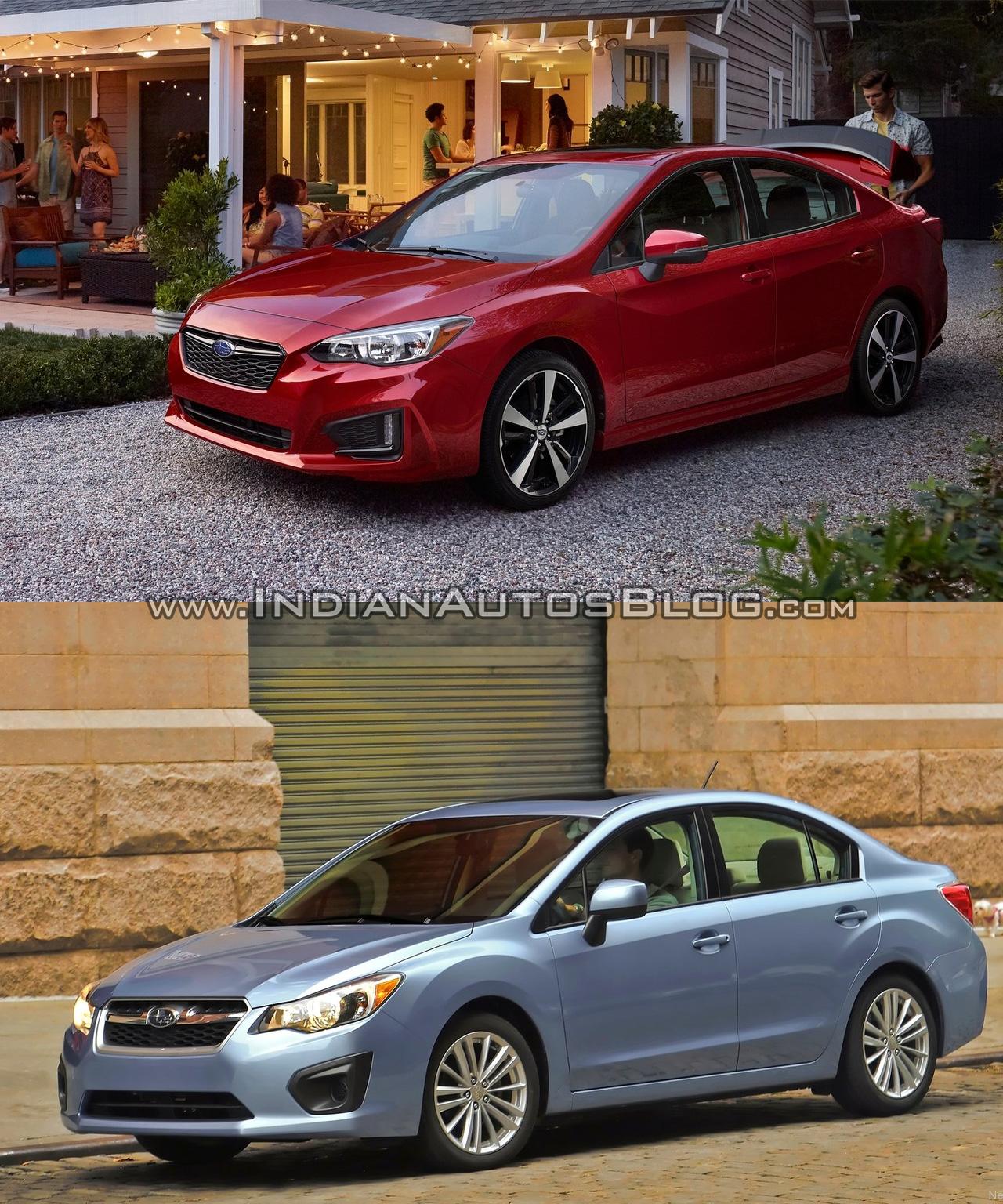 Subaru Impreza V 2016 - now Sedan #2