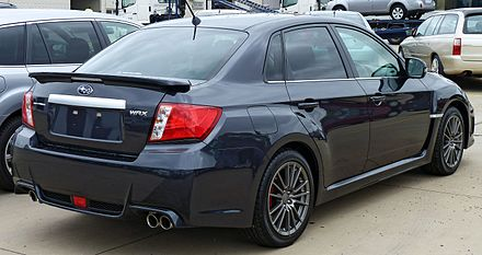 Subaru Impreza WRX III Restyling 2010 - 2014 Sedan #7
