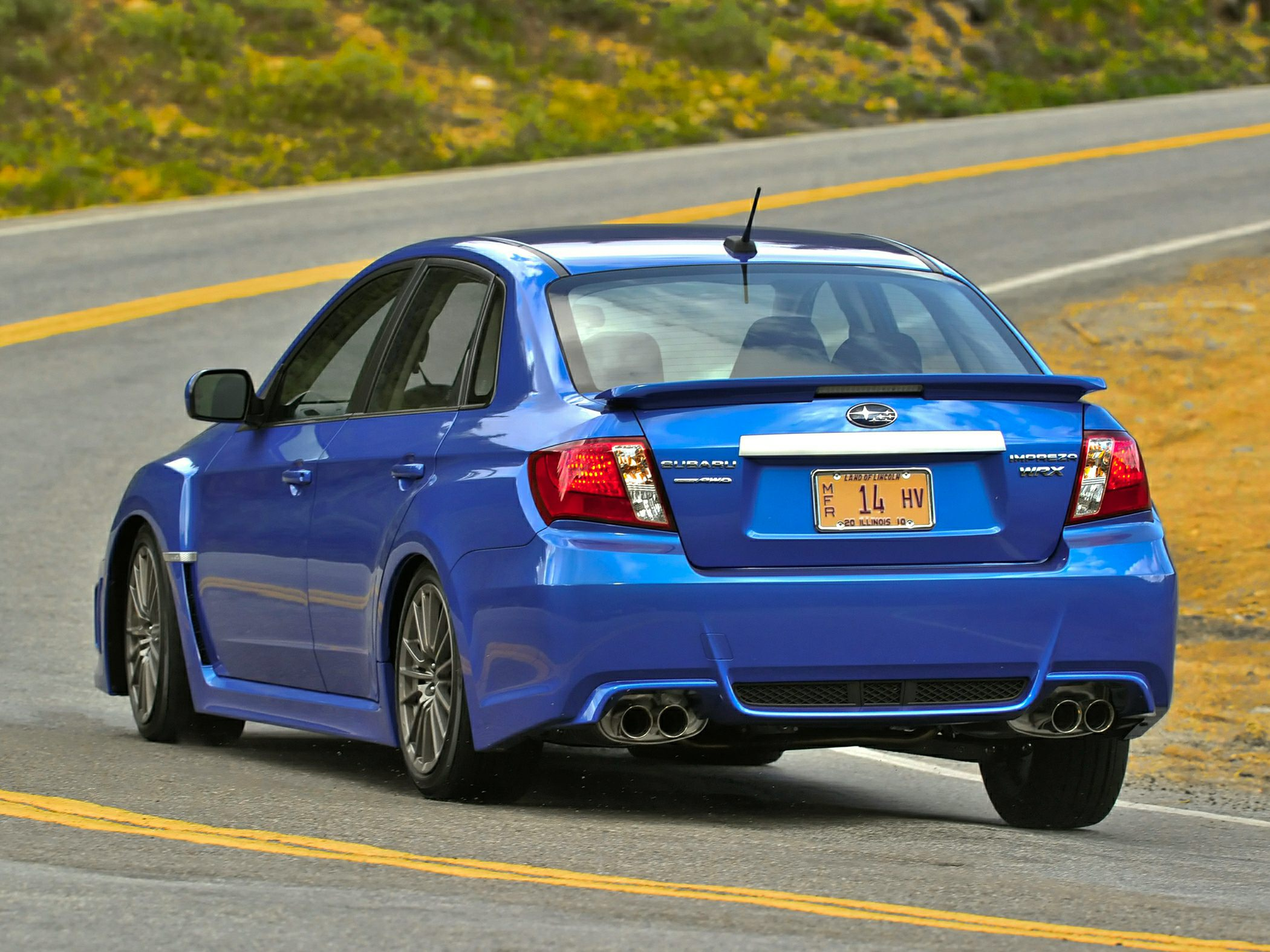 Subaru WRX STi 2014 - now Sedan #5