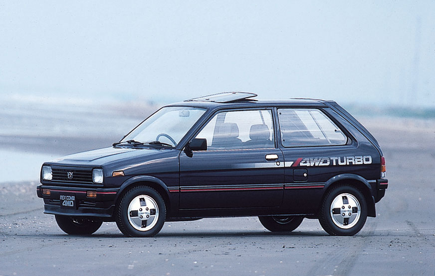 Subaru Justy I 1984 - 1987 Hatchback 3 door #7