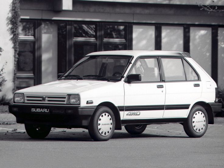 Subaru Justy I 1984 - 1987 Hatchback 3 door #8