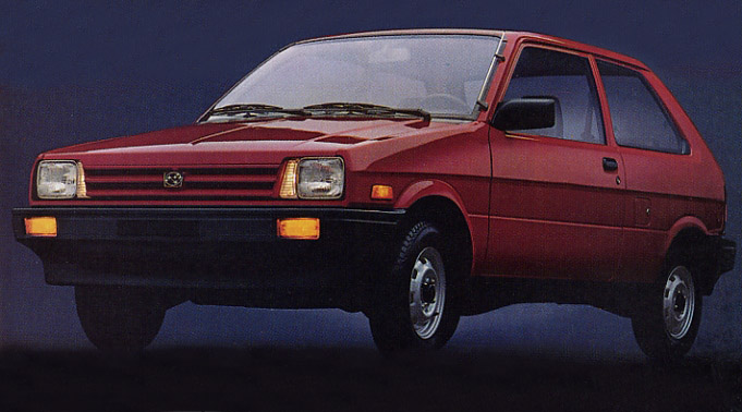 Subaru Justy I 1984 - 1987 Hatchback 3 door #6