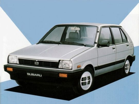 Subaru Justy I 1984 - 1987 Hatchback 5 door #5