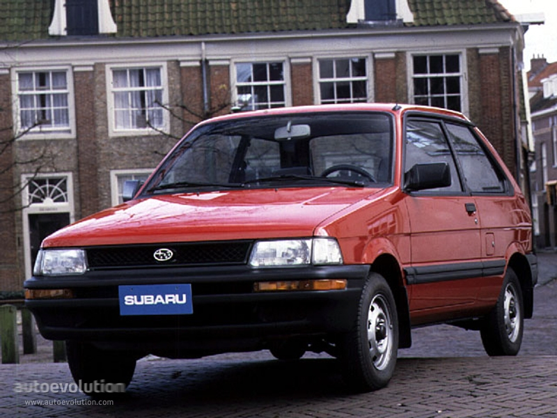 Subaru Justy I Restyling 1987 - 1995 Hatchback 5 door #2