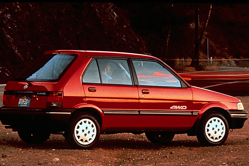 Subaru Justy I Restyling 1987 - 1995 Hatchback 5 door #4