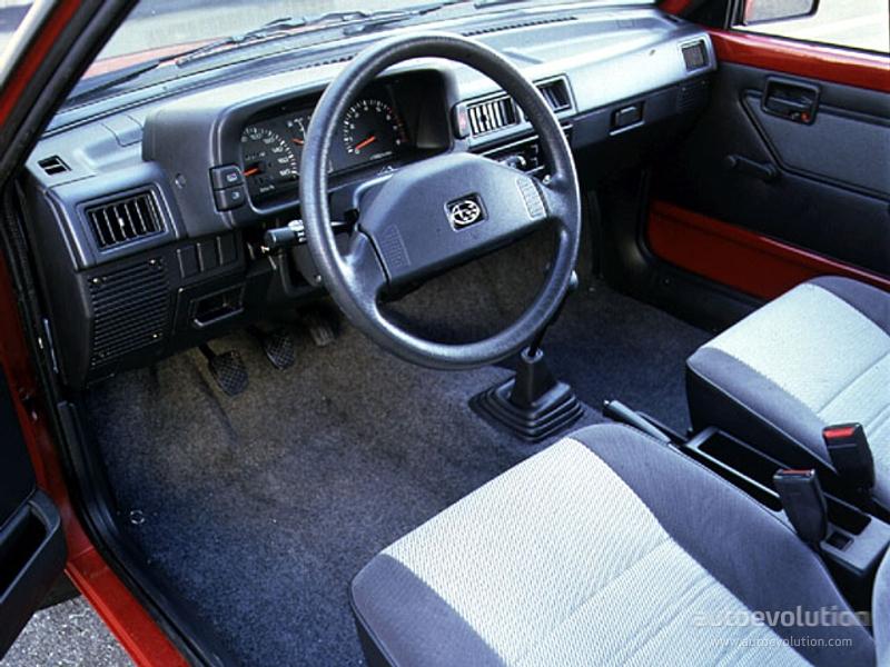 Subaru Justy I Restyling 1987 - 1995 Hatchback 3 door #7