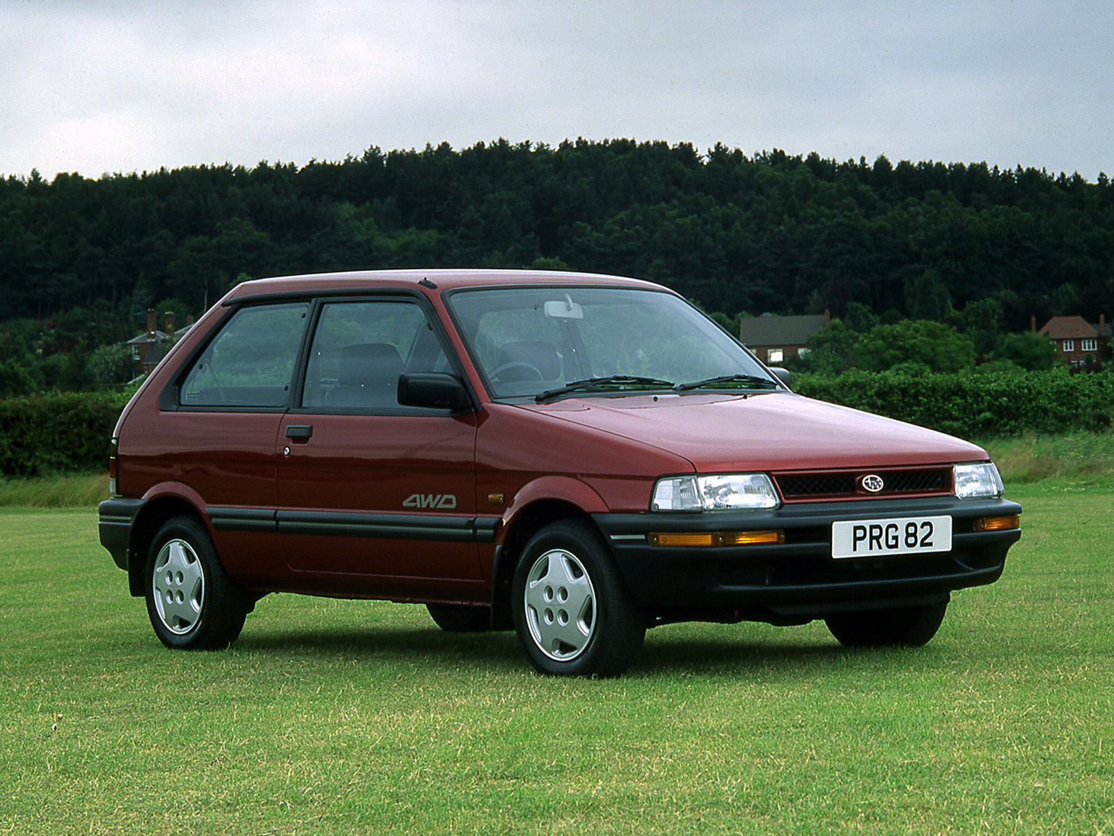 Subaru Justy II 1995 - 2003 Hatchback 3 door #2