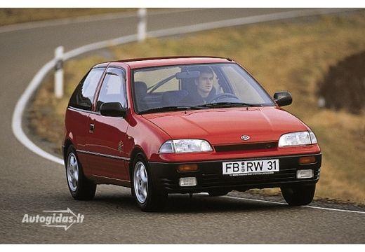 Subaru Justy II 1995 - 2003 Hatchback 5 door #1