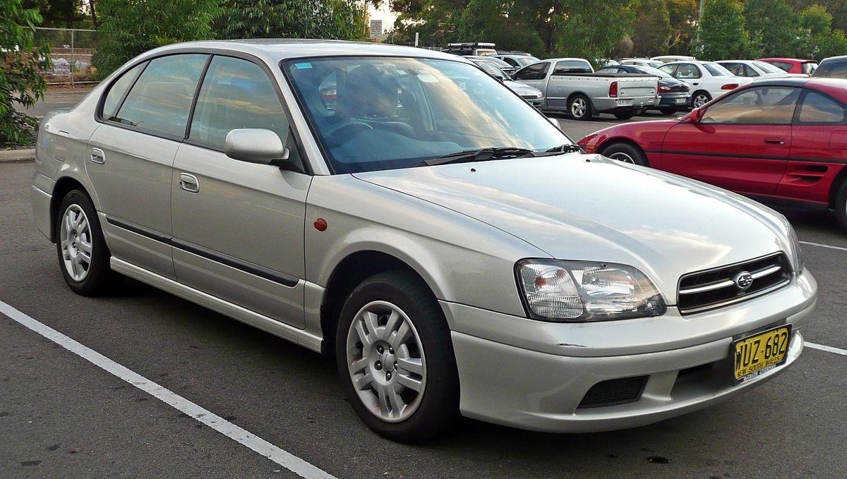 Subaru Outback I 1994 - 1999 Sedan #1