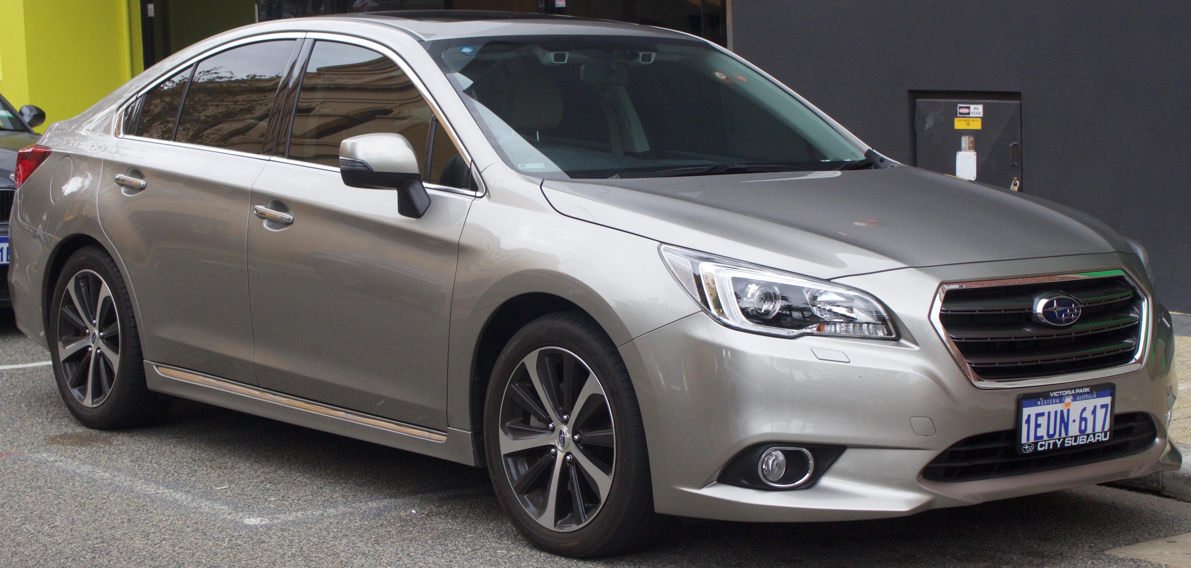 Subaru Legacy VI 2014 - now Sedan #3