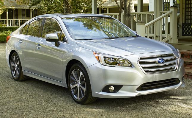 Subaru Legacy VI 2014 - now Sedan #8