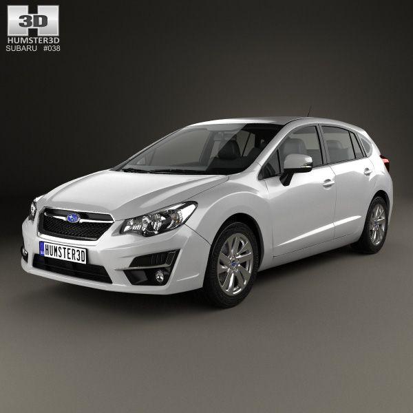 Subaru Lucra 2010 - now Hatchback 5 door #8