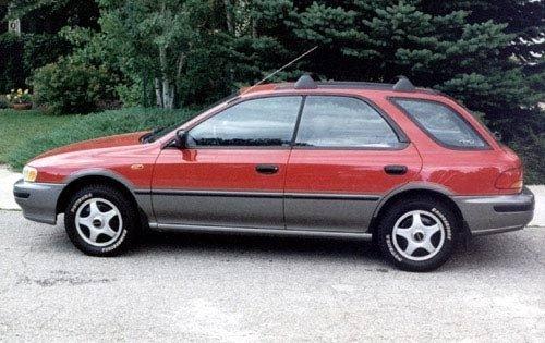 Subaru Outback I 1994   1999 Sedan #4