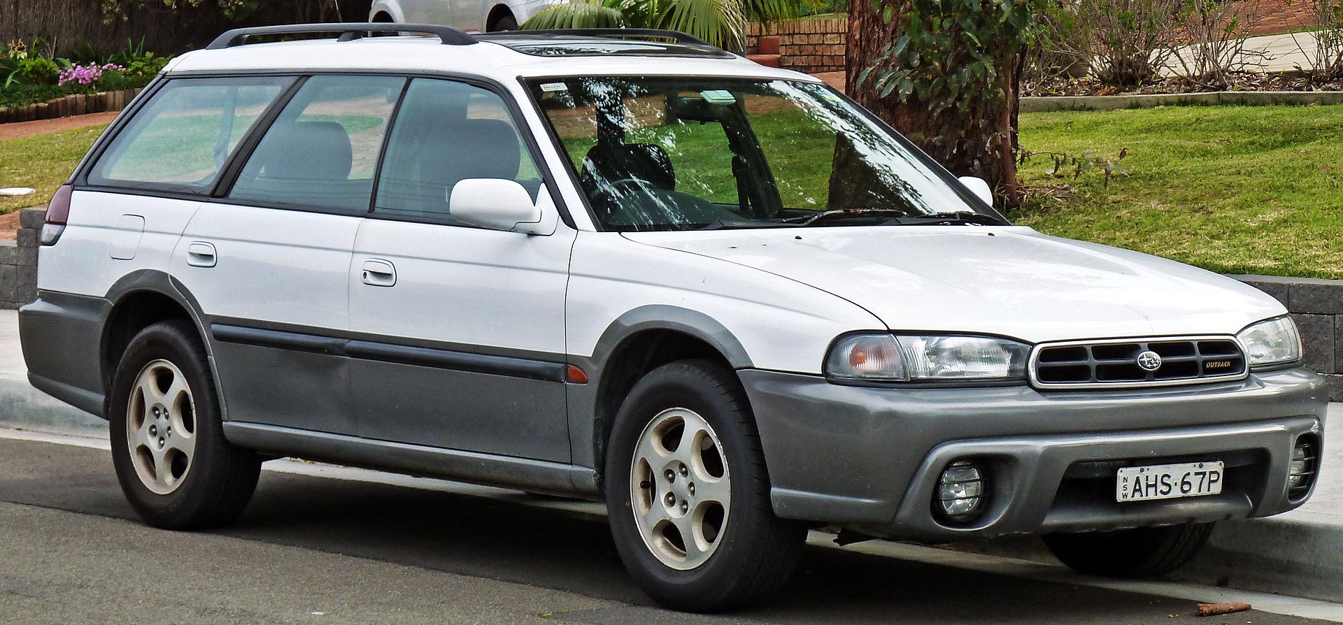 Subaru Outback I 1994 - 1999 Sedan #3
