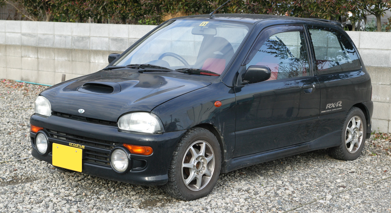 Subaru Vivio 1992 - 1998 Hatchback 3 door #3