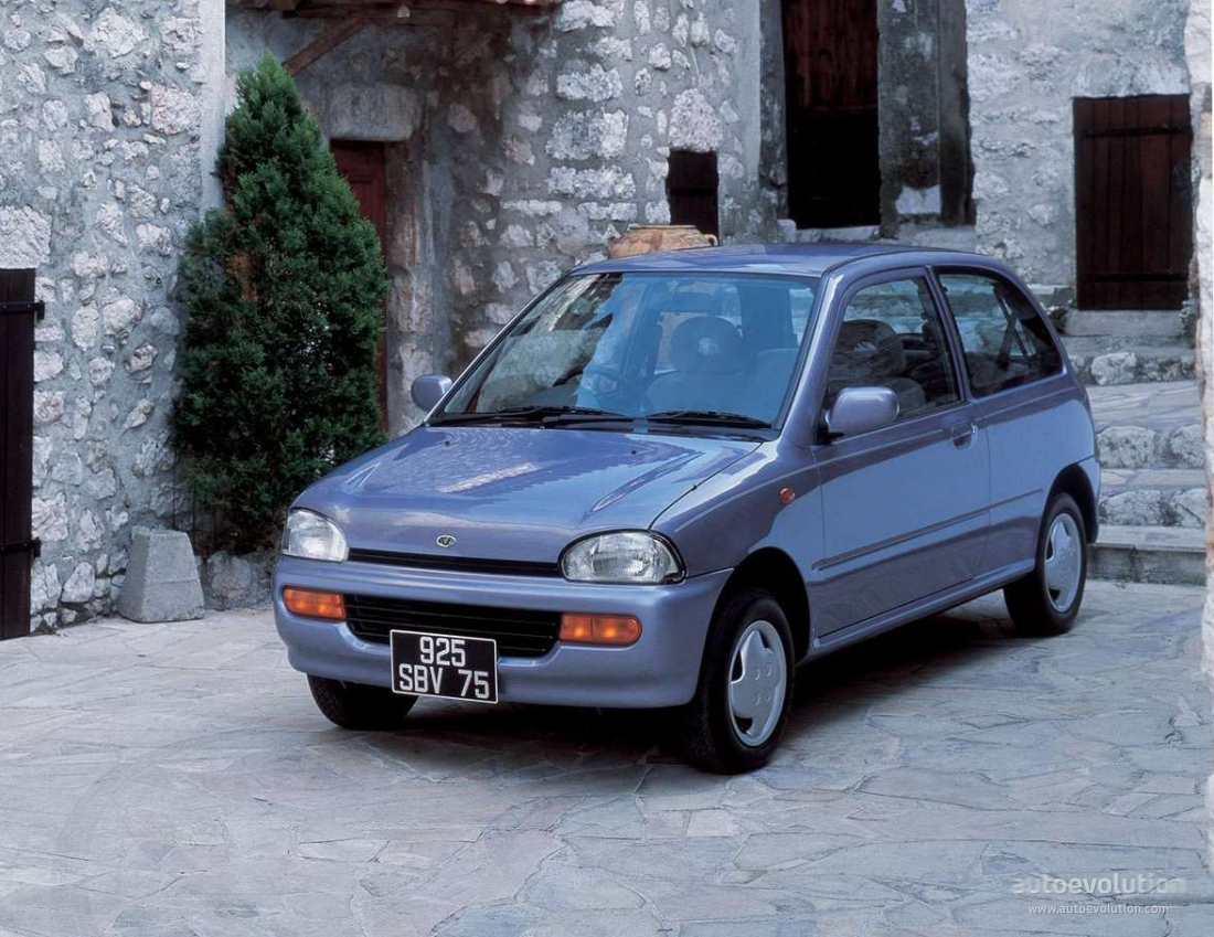 Subaru Vivio 1992 - 1998 Hatchback 3 door #6