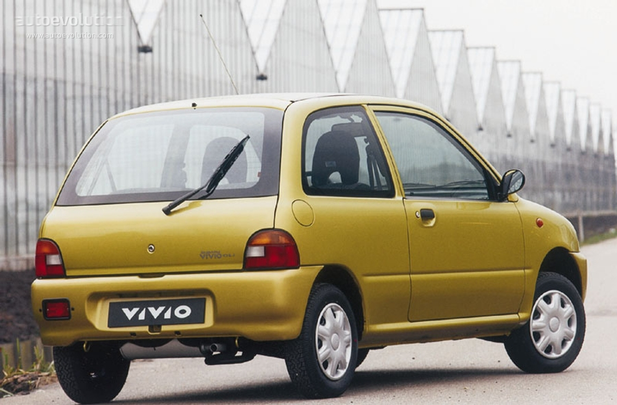 Subaru Vivio 1992 - 1998 Hatchback 3 door #5