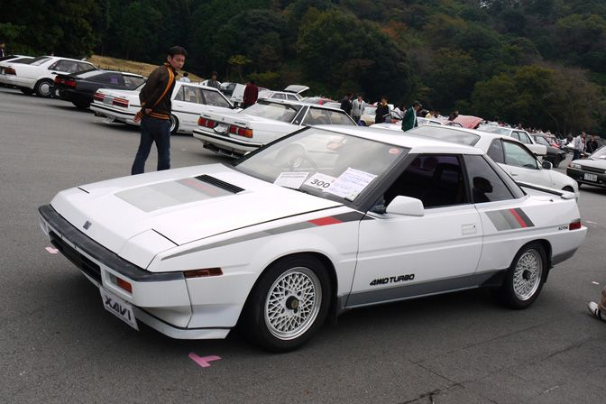Subaru XT 1987 - 1992 Coupe #3