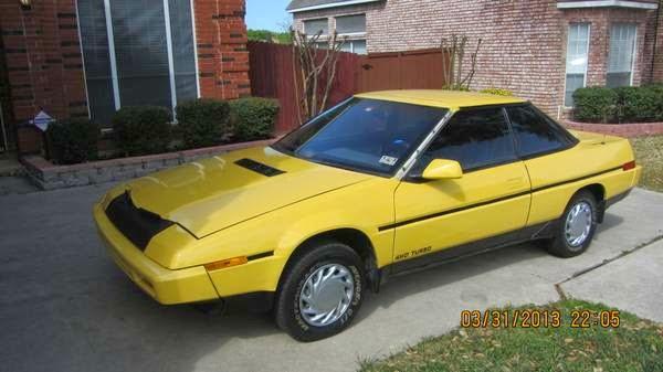 Subaru XT 1987 - 1992 Coupe #6