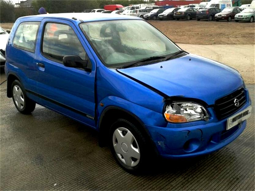 Suzuki Ignis I (HT) 2000 - 2006 Hatchback 3 door #2