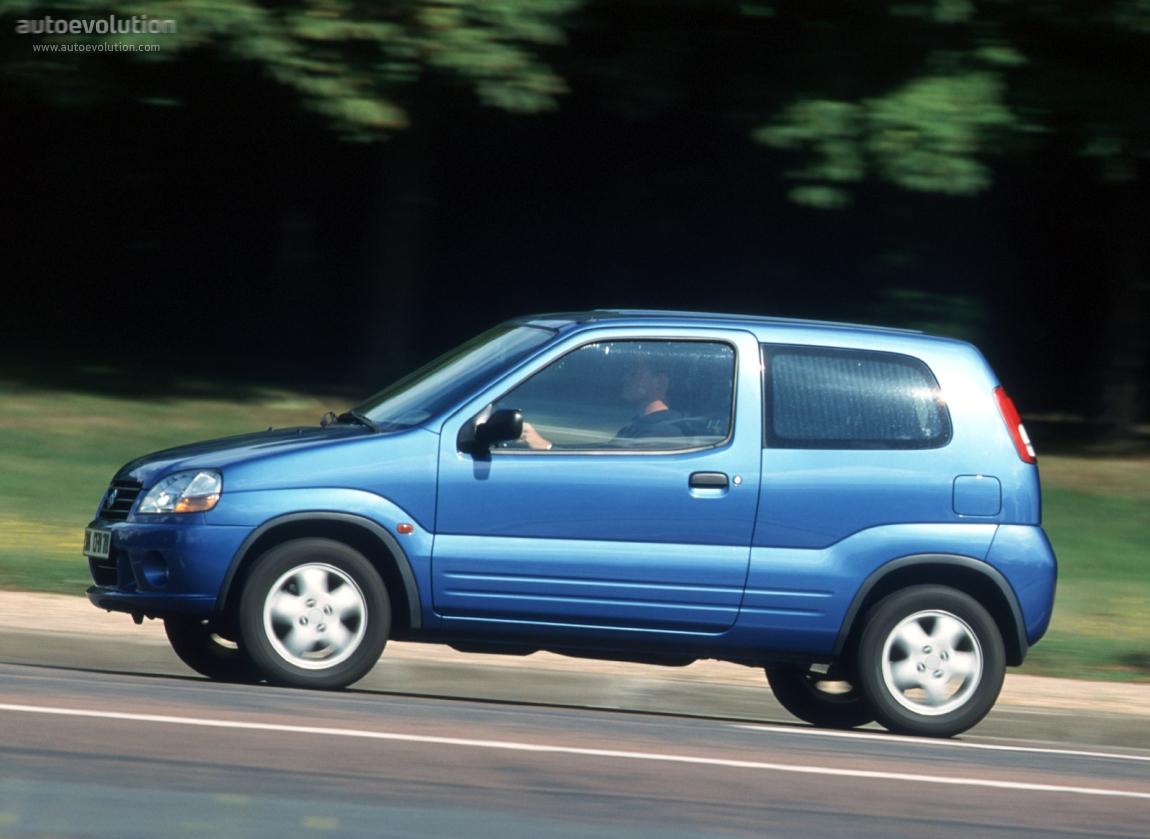 Suzuki Ignis I (HT) 2000 - 2006 Hatchback 3 door #4