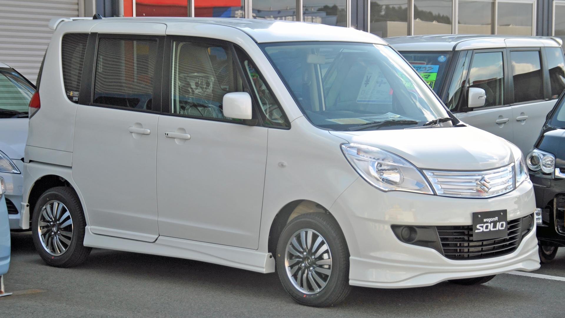 Suzuki Solio II Restyling 2013 - 2015 Microvan #5