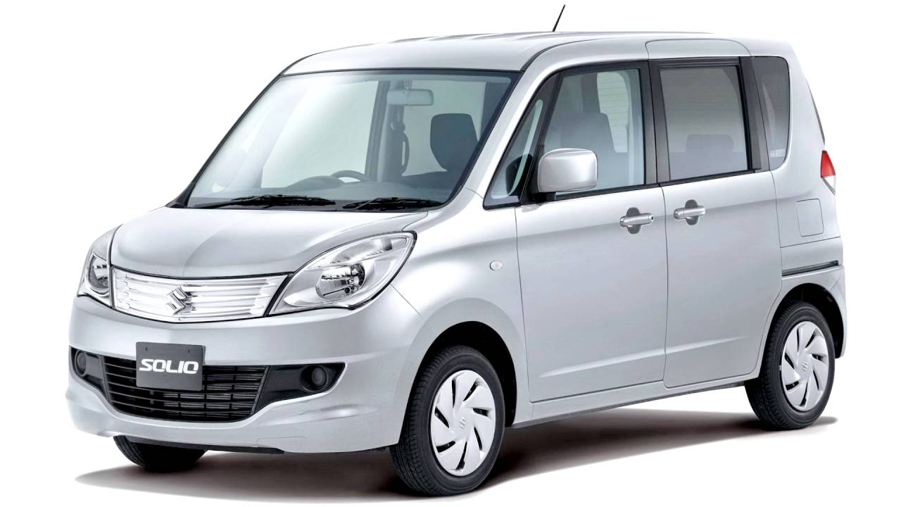 Suzuki Solio II 2011 - 2013 Microvan #8