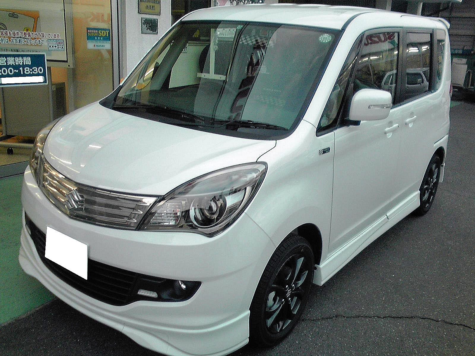 Suzuki Solio II 2011 - 2013 Microvan #6