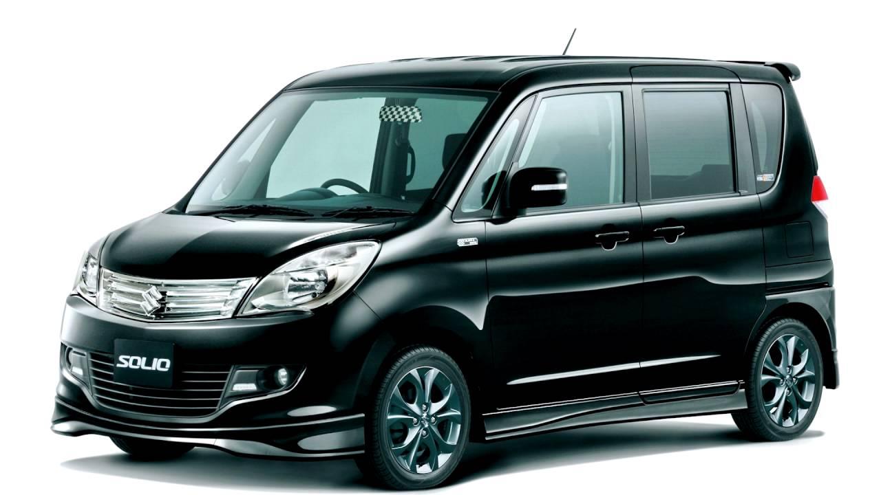 Suzuki Solio II Restyling 2013 - 2015 Microvan #8